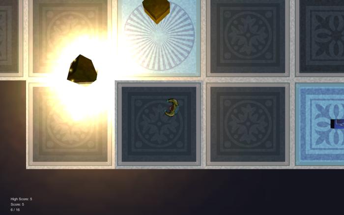 In game screenshot of Departure