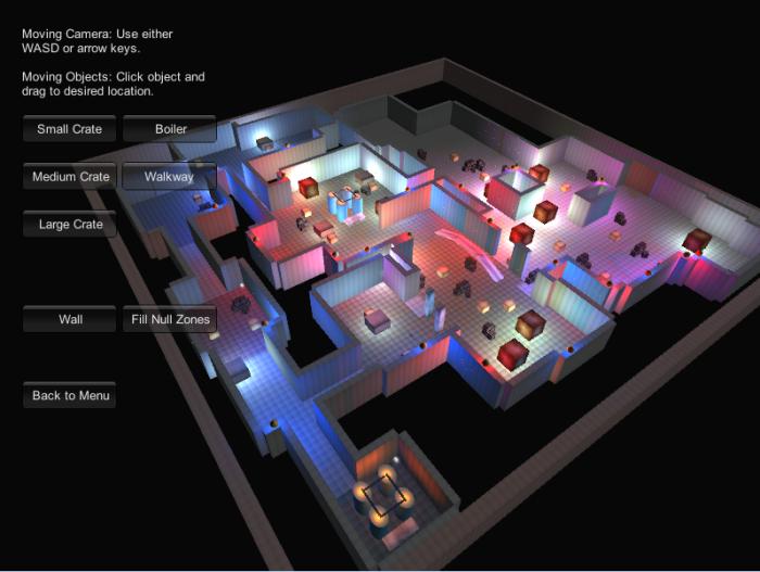 Level Editor menu